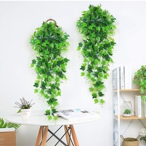 Artificial Ivy Hanging Plant for Decor